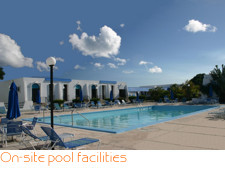 On-site pool facilities