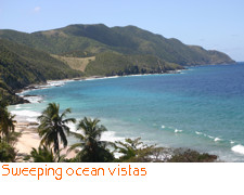 Sweeping ocean vistas